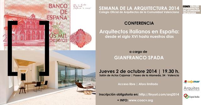 invitación semana arquitectura 2014-p
